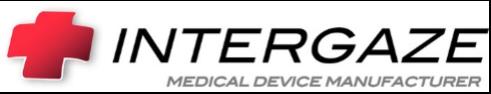 Logo INTERGAZE, s.r.o.